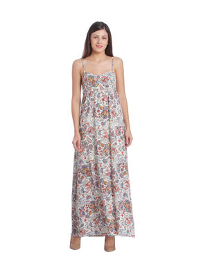 Women Floral Printed Maxi Dress
