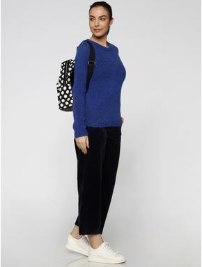Blue Glittered Pullover