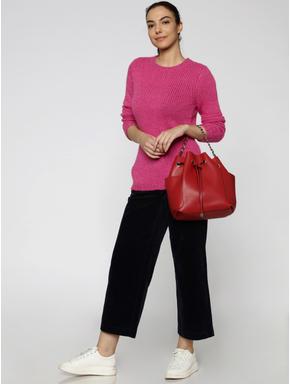 Rose Glittered Pullover