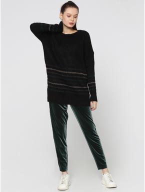 Black Long Pullover