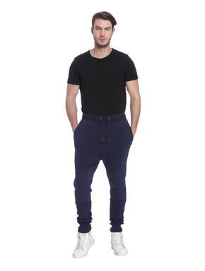 Dark Blue Biker Sweatpants