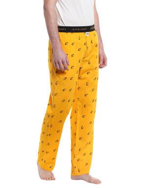 Cleveland Cavaliers Printed Yellow Pyjamas NBA