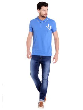Bright Blue Polo T-Shirt