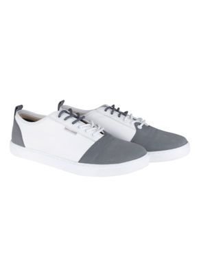 White & Grey Sneakers