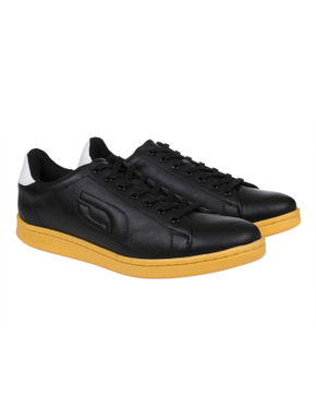 Black & Yellow Sneakers
