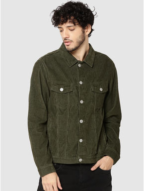 Olive Green Corduroy Jacket