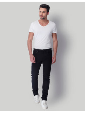 Black Low Rise Skinny Fit Jeans