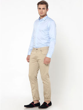 Light Blue Slim Fit Shirt
