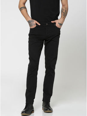 Black Glenn Slim Pants