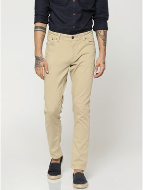 Khaki Glenn Slim Fit Pants
