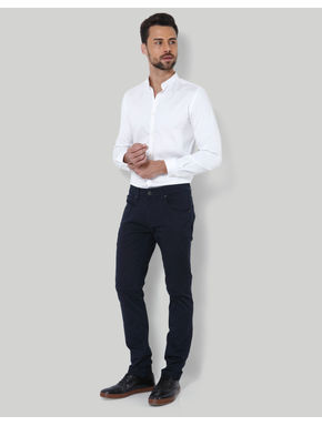 Black Low Rise Slim Fit Chinos