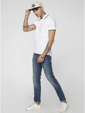 Dark Blue Ben Low Rise Skinny Fit Jeans