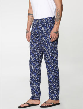 Black All Over Pelian Print Pyjama