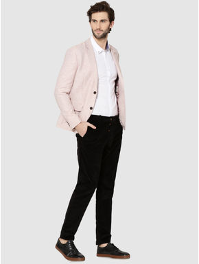 Pink Slim Fit Blazer