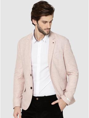 Pink Slim Fit Blazer
