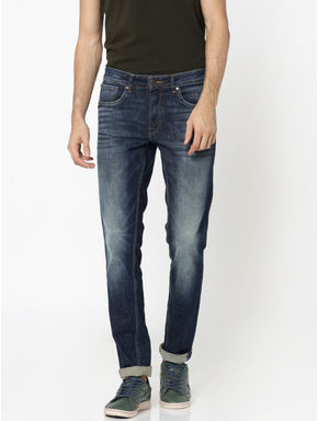 Dark Blue Glenn Slim Jeans