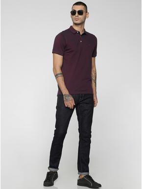 Burgundy Polo T-Shirt