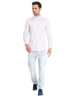 Solid Orchid Ice Casual Shirt
