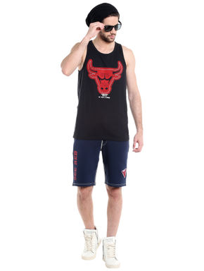 Chicago Bulls Navy Blue NBA Shorts