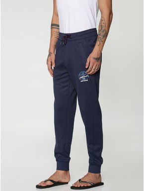 Navy Blue Drawstring Trackpants