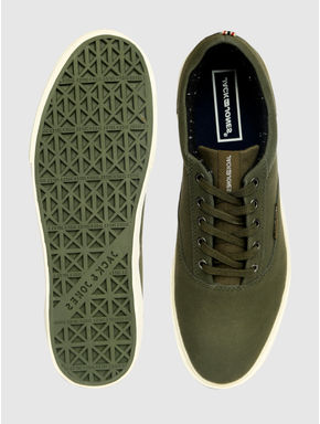 Green Suede Sneakers