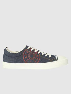 Blue Denim Sneakers
