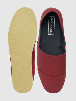 Red Slip On Espadrilles