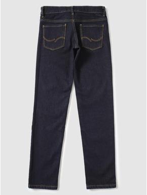 Junior Dark Blue Low Rise Glenn Slim Fit Jeans