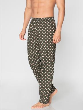 Green All Over Monkey Graphic Print Pyjama