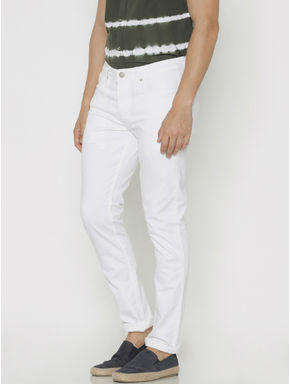 White Ben Skinny Fit Jeans