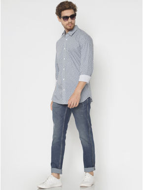Blue Mike Comfort Fit Jeans