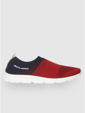 Red Slip On Sneakers