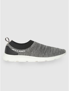 Grey Slip On Sneakers