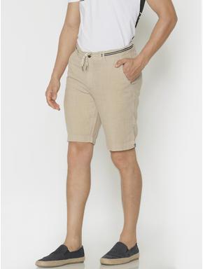 Beige Chino Shorts
