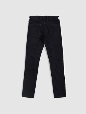 Junior Blue Drawstring Glenn Slim Fit Jeans