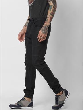 Black High Rise Simon Anti Fit Jeans