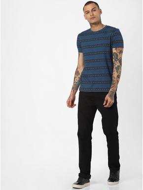 Black Clark Slim Fit Jeans