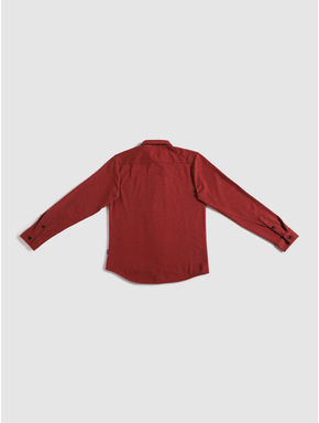 Junior Red Full Sleeves Shirt