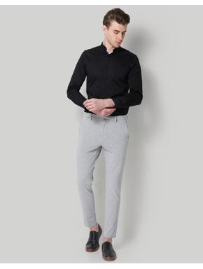 Light Grey Slim Fit Trousers
