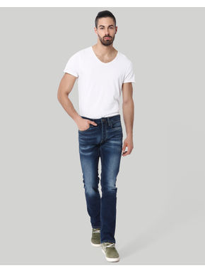 Blue Clark Regular Fit Jeans