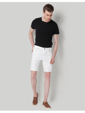 White Slim Fit Shirts