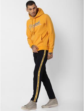 Yellow Hooded Sweatshirt