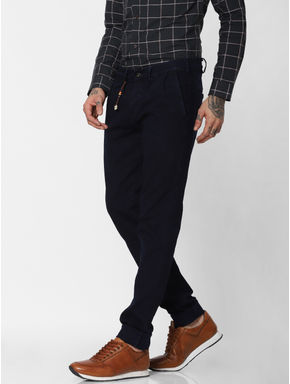 Dark Blue Low Rise Glenn Slim Fit Jeans