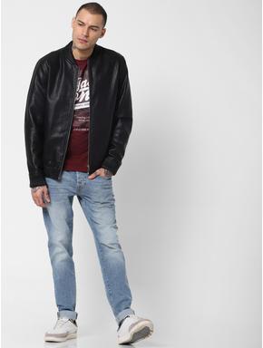 Light Blue Low Rise Glenn Slim Fit Jeans