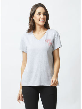 Mushroom Embroidered Classic T-shirt