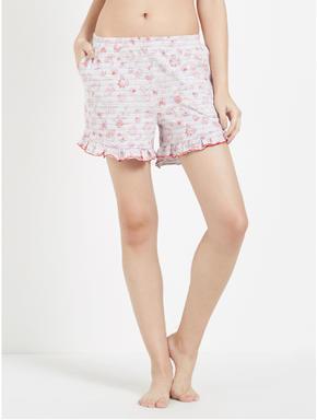 Jungle Doodle Striped Shorts