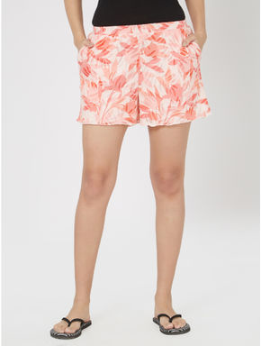 Printed Knit Lounge Shorts