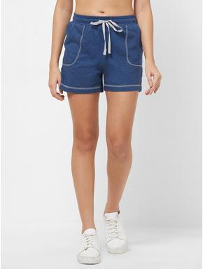 Knit Textured Sports Shorts