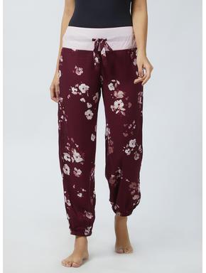 Stylish Floral Rayon Pyjama