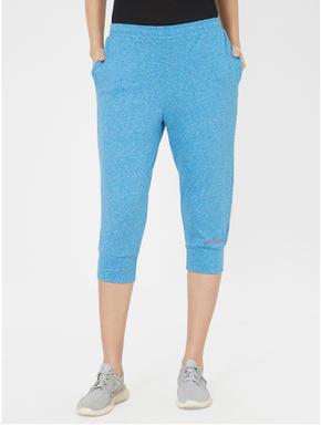 Textured Capri Track Pants